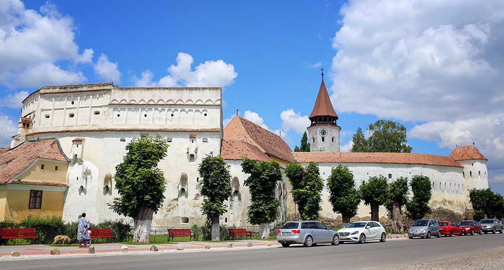 Prejmer Fortified Church in Romania