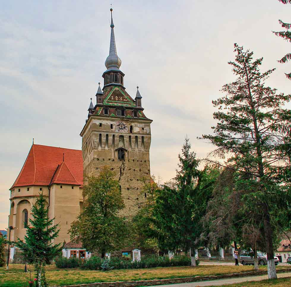 Saschiz Fortified Church in Romania