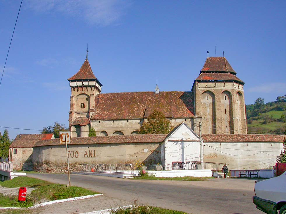 Valea Villor Fortified Church in Romania