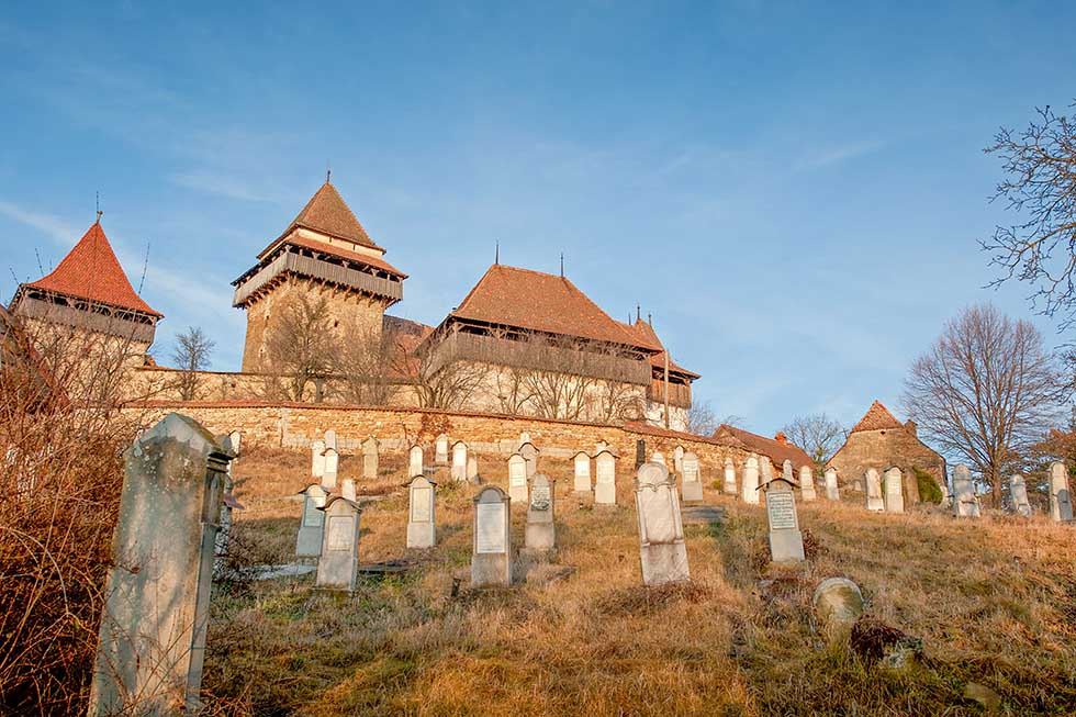 Viscri Fortified Church in Romania