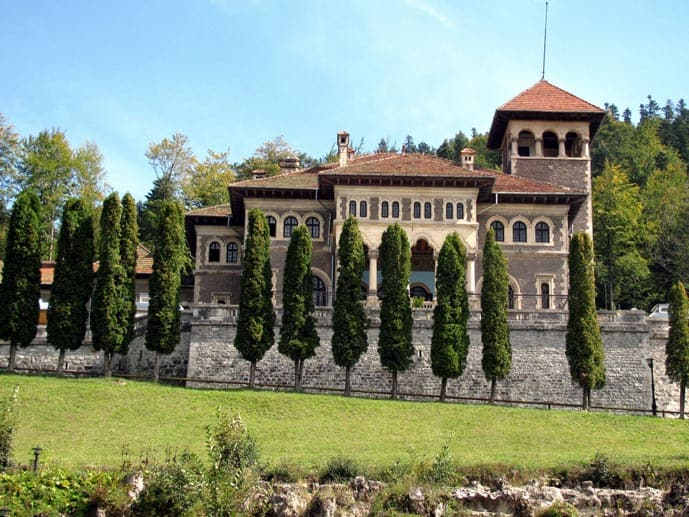 Cantacuzino Castle in Romania