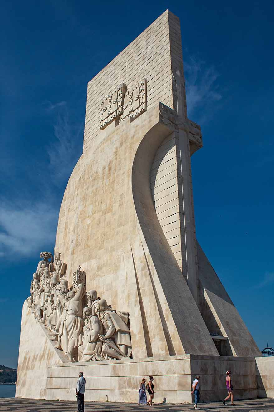 Monument of Discoveries in Lisbon #Portugal #travel #Europe