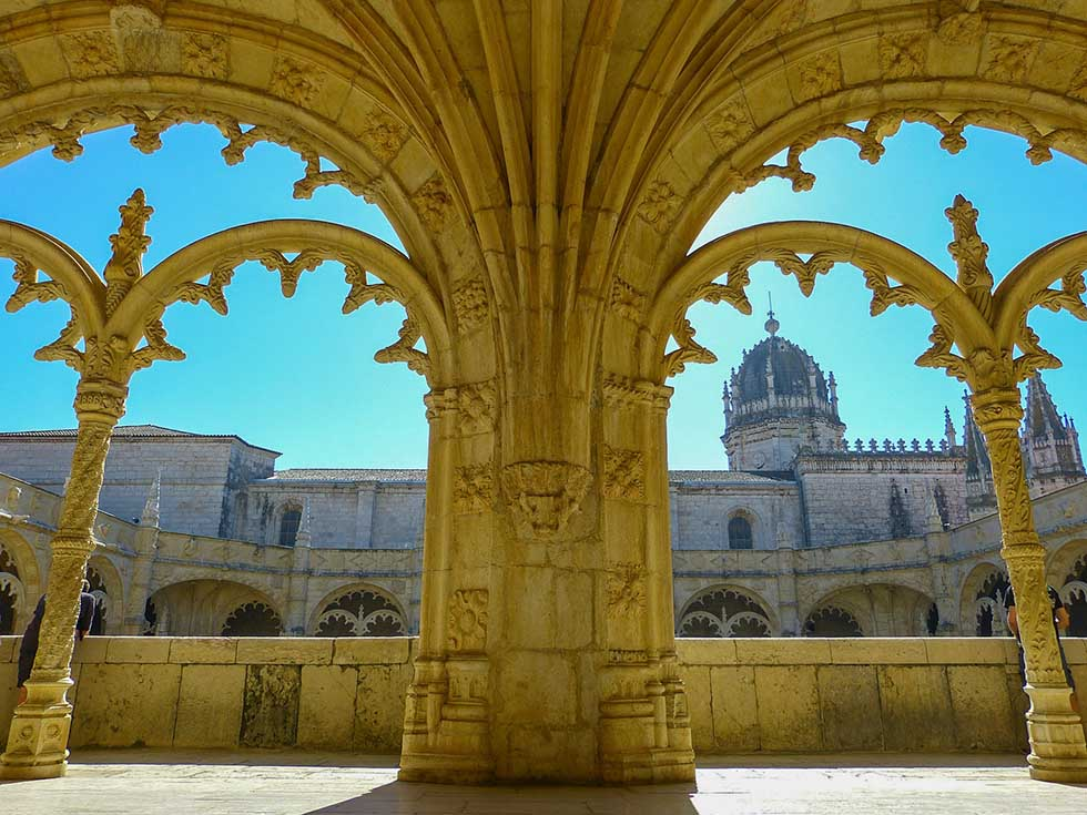 Jenorimos Monastery in Lisbon #Portugal #travel #Europe