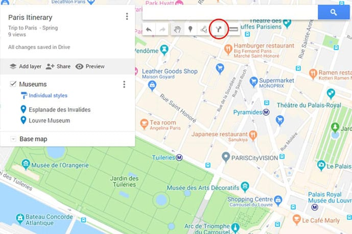 How to Plan a Trip with Google My Maps - Full Tutorial 2019 Map My Driving Route on map my drives, map my name, plan my route, mapping a route, map my distance, map out a route trip, map my city, map my place, map my run, chart my route, map my state, map sf 5k route, map my trip, map of my land,