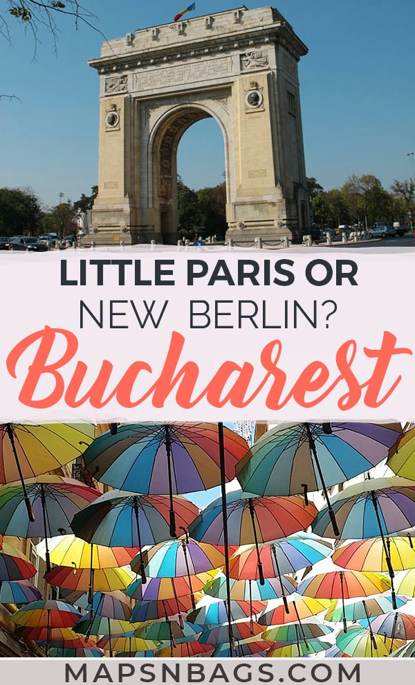 Bucharest is known as little Paris because of its art nouveau buildings, but could it be the new Berlin because of its emerging street art? Click and discover! #Bucharest #LittleParis #NewBerlin #Romania #Europe #Travel