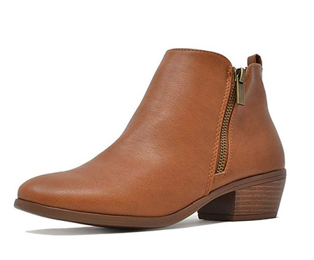 Brown boots that women wear in Ireland