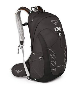Black daypack Osprey Talon for men