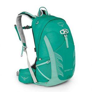 Green daypack Osprey Tempest for women