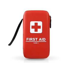 Travel first aid kit for hiking in Ireland