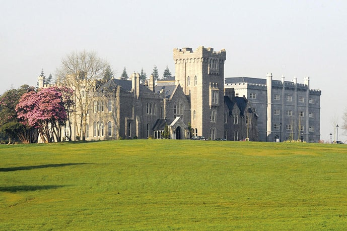 Kilronan castle hotel in Ireland