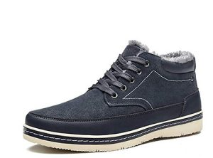 Dark blue sneakers men wear in Ireland