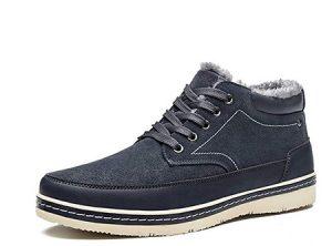 Dark blue sneakers men wear in Ireland