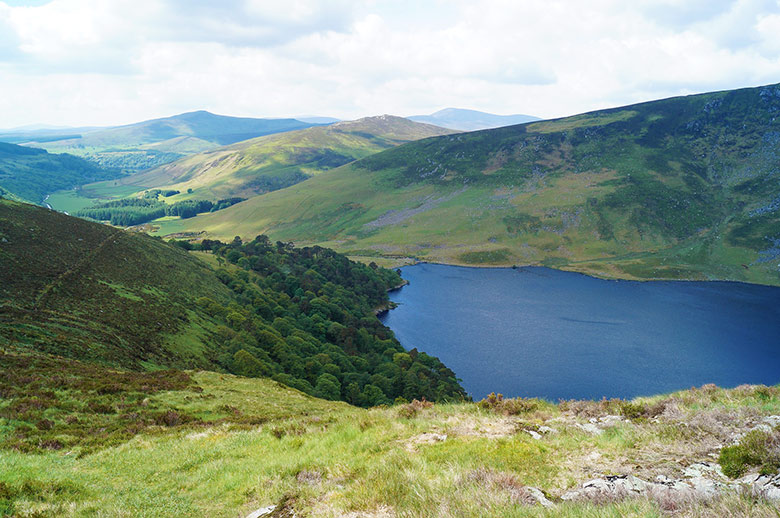 Glendalough and Wicklow mountains are pleasant day tours from Dublin!