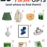 Collage of Irish things