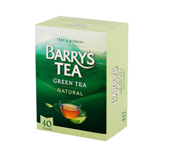 Box of Barry's green tea