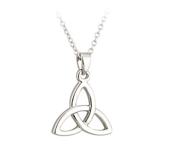 Silver Tara trinity knot pendant