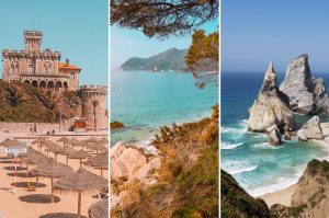 Looking for the best beaches in Lisbon Portugal? Then check out this complete guide with all information you need for the summer: things to do in many beaches including Cascais, beautiful photography, surfing spots (the best in Europe!), and a map! Check it out!