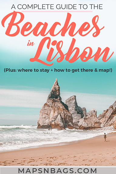 Check out the best beaches in Lisbon, Portugal! We've created an ultimate guide with all practical information you need for the summer: beautiful photography, things to do in many beaches including Cascais, tips for adventure seekers ( aka the best surfing spots Europe!), and a map! Read more! Best beaches in Lisbon | best beaches near Lisbon | Beaches in Setubal | Beaches in Portugal | Summer in Lisbon #Lisbon #beaches #guide #Portugal #Europe #Summer #Mapsnbags