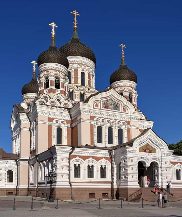Quiz Alexander Nevsky Cathedral in Estonia