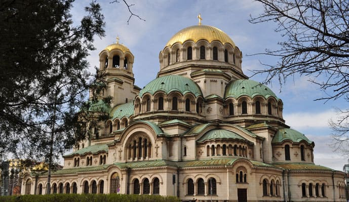 Quiz Alexander Nevsky Cathedral in Sofia