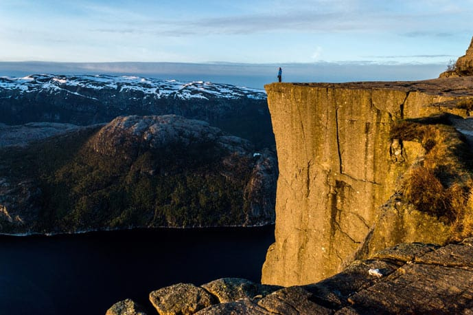 Quiz Preikestolen in Norway