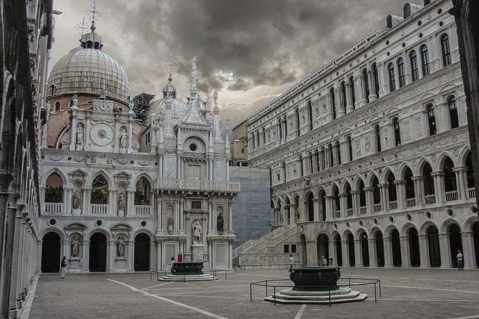 Quiz Palace of the Doge in Venice