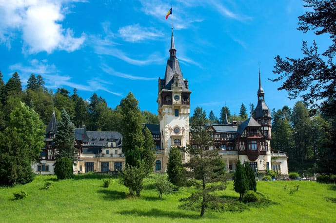 Quiz Peles Castle in Romania