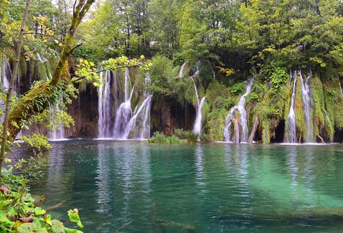 Quiz Plitvice Lakes National Park in Croatia