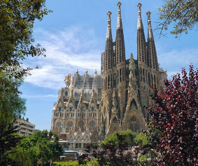 Quiz Sagrada Familia in Barcelona