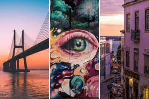 Lisbon travel tips collage