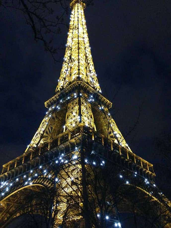 4 days in Paris, visit the Eiffel Tower