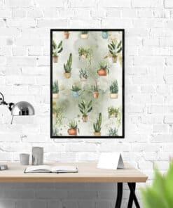 Mockup Plants wall art