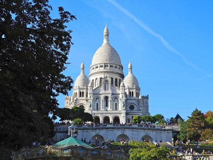 4 days in Paris, visit the Sacre Coeur