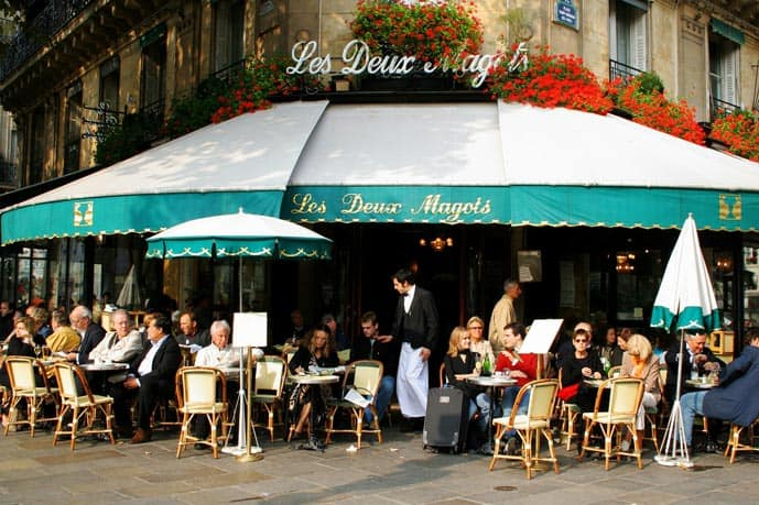 Paris is always a good idea because it has an excellent café culture