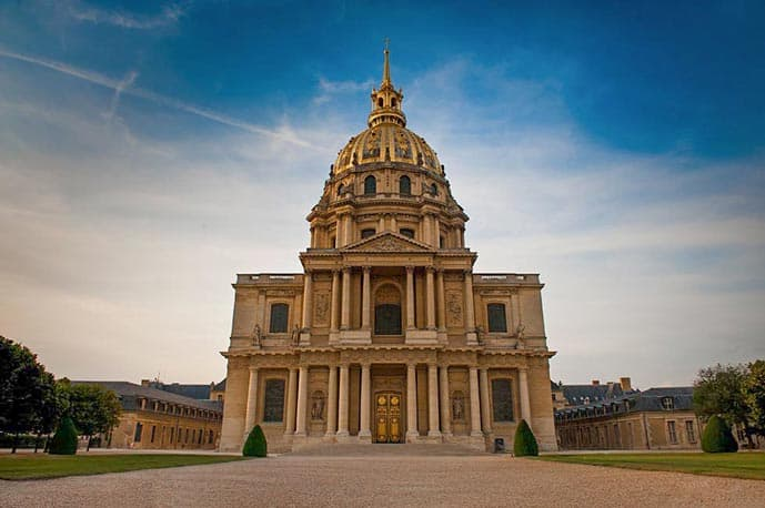 Four days in Paris, visit the Dome des Invalides