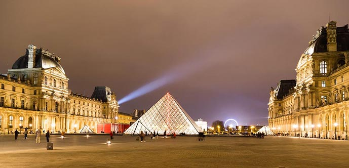 4 days in Paris, visit the Louvre Museum
