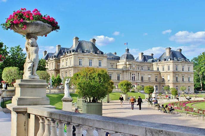 4 days in Paris, visit the Luxembourg Gardens