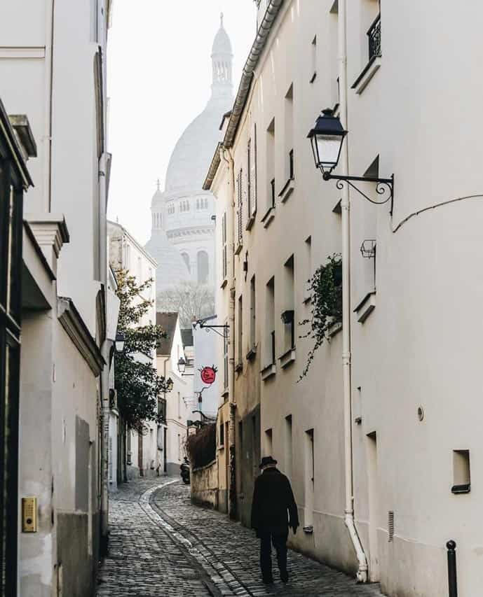 4 days in Paris, wander through Montmartre