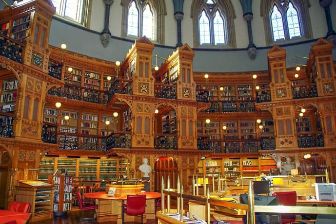 Congress Library in Ottawa, Canada