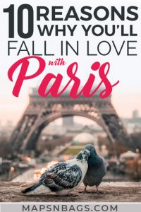 Pinterest graphic on why Paris is always a good idea