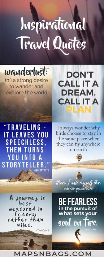 Best Travel Quotes: The 100 Most Inspirational Travel Quotes ...