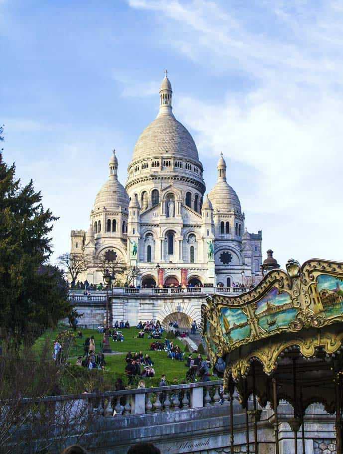 Paris is always a good idea because it has gorgeous churches, such as the Sacré-Coeur