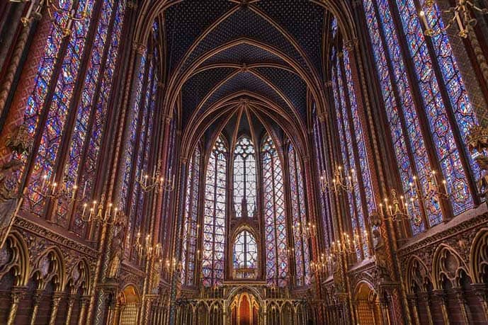 Paris 4 day itinerary, visit the Sainte Chapelle