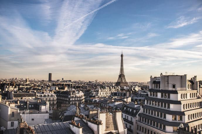 Paris is always a good idea because it has magnificent views