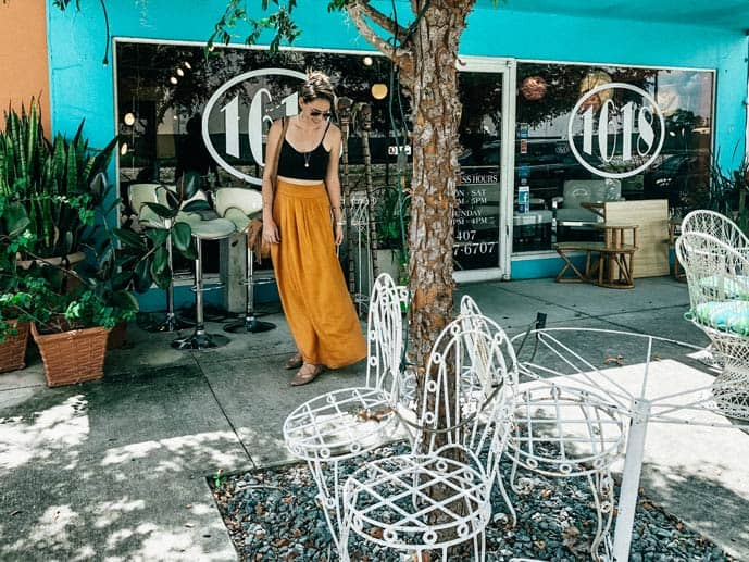 1612 is just one of the many cute vintage stores in Lake Ivanhoe Village