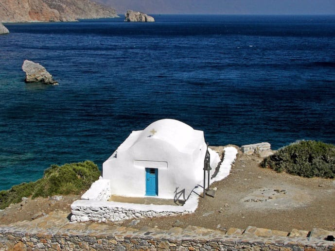 Amorgos is one of the best Greek islands for couples.