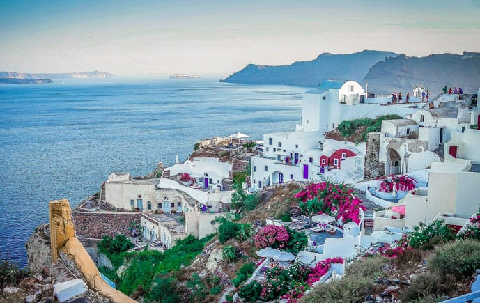 The best Greek islands for couples planning their Greece honeymoon or a romantic holiday in Greece