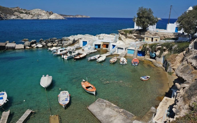 Milos is one of the best Greek islands for couples planning a romantic holiday in Greece