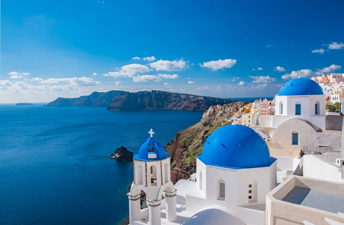 Santorini is one of the best Greek islands for couples planning a romantic holiday in Greece