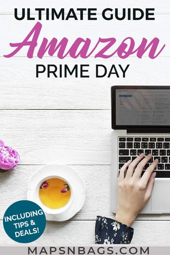 Amazon Prime Day - Pinterest graphic